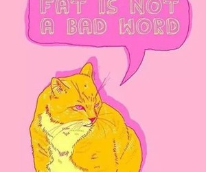 body, feminism, and cats image