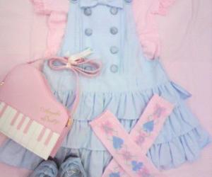 lolita, pastels, and fairy kei image