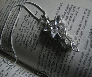 book, jewellery, and LOTR image