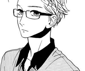 manga, hirunaka no ryuusei, and boy image