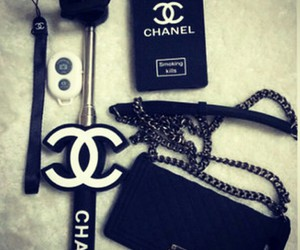 black white, chanel, and fashion image