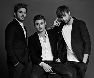 max irons, douglas booth, and sam claflin image