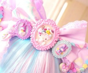 accessories, Harajuku, and kawaii image