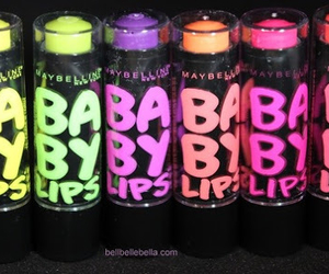 baby lips, Maybelline, and lipstick image