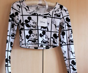 black and white, clothes, and disney image