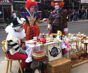 alice in wonderland, amazing, and camden town image