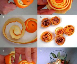 orange, diy, and flowers image