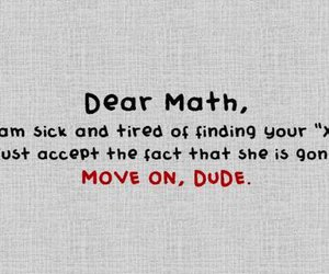 math, funny, and x image