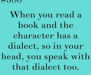 book and dialect image