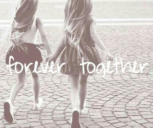 forever, girl, and together image