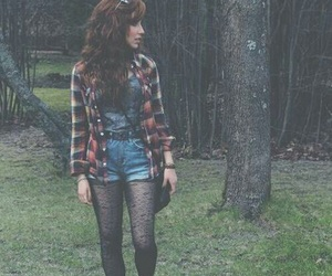 girl, hipster, and grunge image