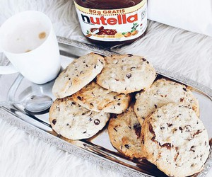 Cookies and nutella image