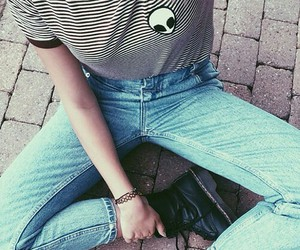 grunge, alien, and jeans image