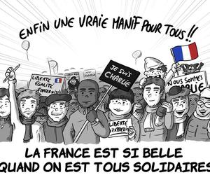 france, unity, and solidarité image