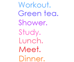 body, workout, and green tea image