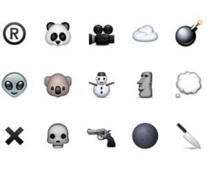 emojis, grunge, and black image