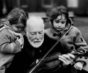 inspiring, music, and old man image