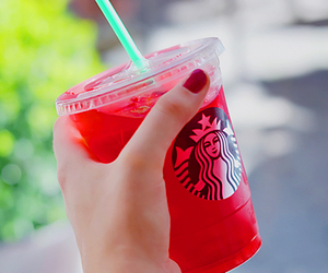 cool, starbuck, and red image