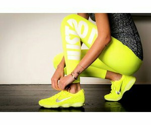 girly, neon, and shoes image