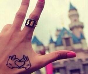 disney, tattoo, and mickey image