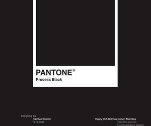 pantone and black image