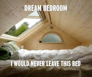 bedroom, Dream, and bed image