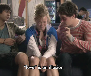 love, skins, and illusion image