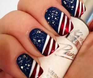 nail art design and amerika style image
