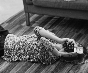 fashion, girl, and camera image