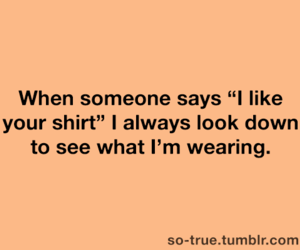 funny and shirt image