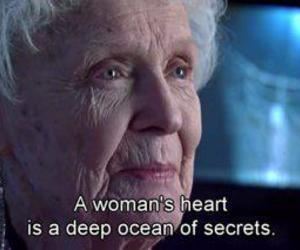 titanic, heart, and secret image