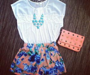 outfit, shorts, and summer image