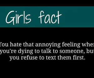 hate and girl facts image