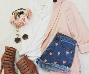 clothes, girly, and shorts image
