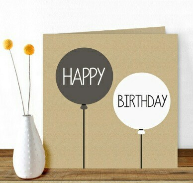 birthday, card, and gift image