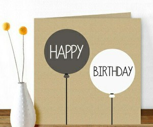 gift, birthday, and card image