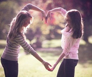 beautiful, best friends, and heart image