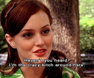 bitchy, gossip girl, and quote image