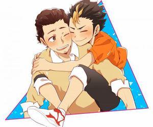 haikyuu and asanoya image