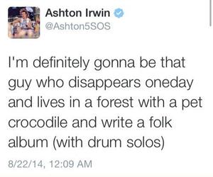 5 seconds of summer, 5sos, and ashton irwin image