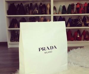 Prada, fashion, and shoes image