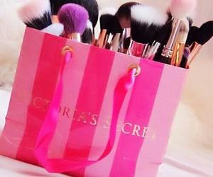 Victoria's Secret, pink, and makeup image