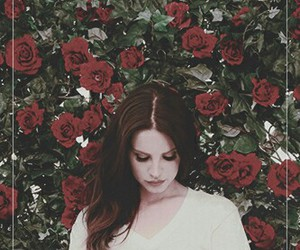 flowers, lana del rey, and lanadelrey image