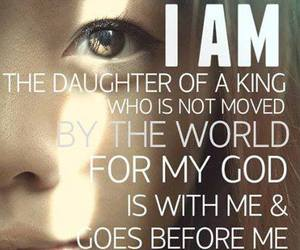 god, daughter, and king image