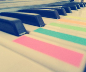 instrument, multicoloured, and music image