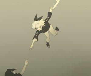 itachi, sakura, and sasuke uchiha image