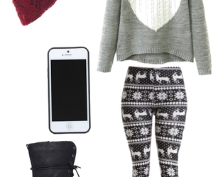 combat boots, cute clothes, and iphone image
