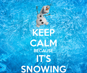 frozen, snowman, and olaf image