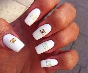 beautiful, chanel, and nail art image