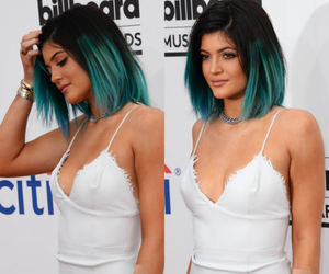 kylie jenner, fashion, and hair image